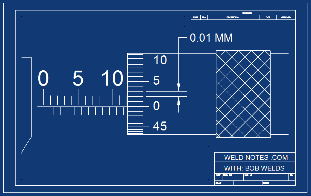 How to Read a Metric Micrometer – Page 2 – WeldNotes com