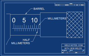 micrometer BARREL SCALE