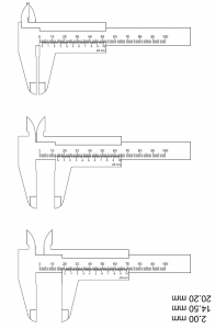 vernier caliper worksheet with answers pictures to pin on pinterest thepinsta. Black Bedroom Furniture Sets. Home Design Ideas